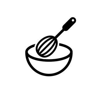 打蛋器和碗
