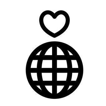 地球和心臟
