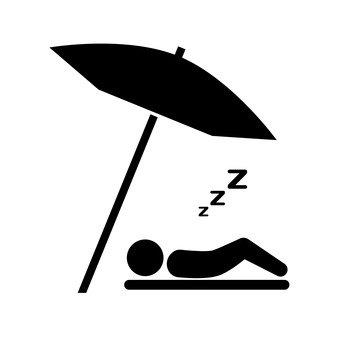 자고있는 사람