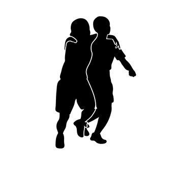 Two-person leg