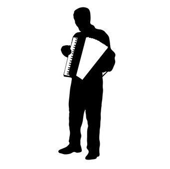 아코디언 연주자