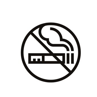 गैर धूम्रपान निशान
