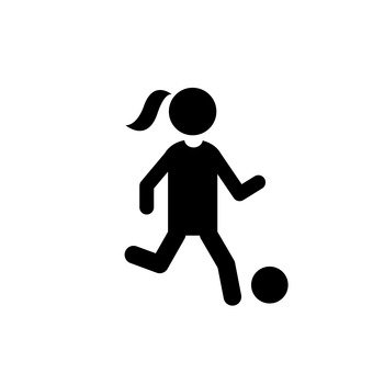 Women football player