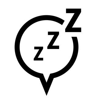 Speech bubble (sleep)