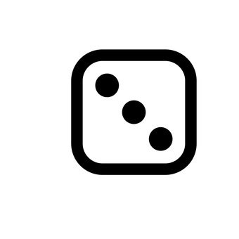 骰子(3眼)