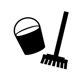 Brush and bucket