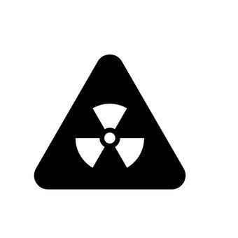 Radioactivity mark