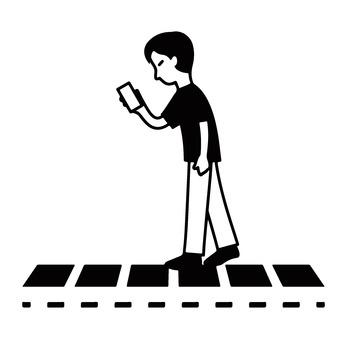 Walking smartphone