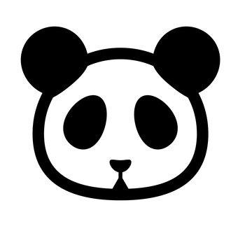 الباندا (أسود)