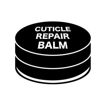 Cuticle repair balm