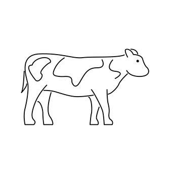 A bovine
