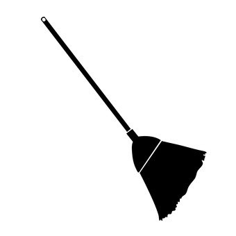 A broom