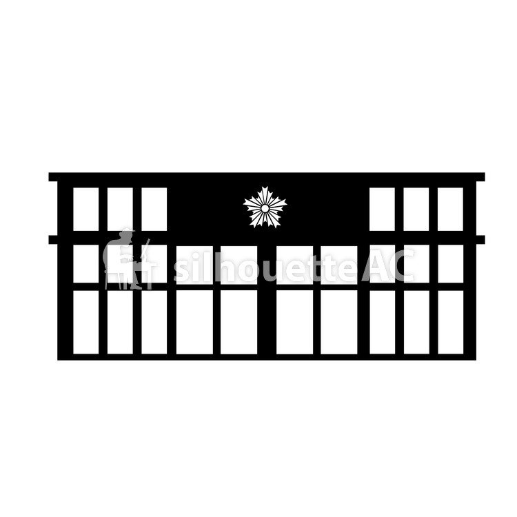 Free Silhouette Vector : POLICE entrance - 143655 | silhouetteAC
