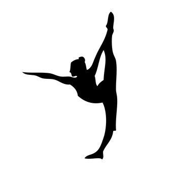 Gymnastics lady 4