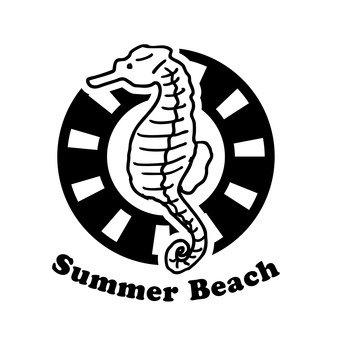 여름 해변