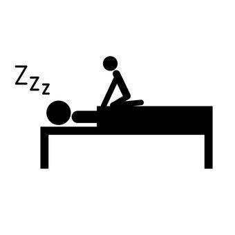 To wake