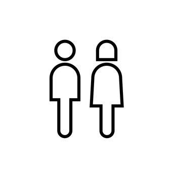 शौचालय निशान