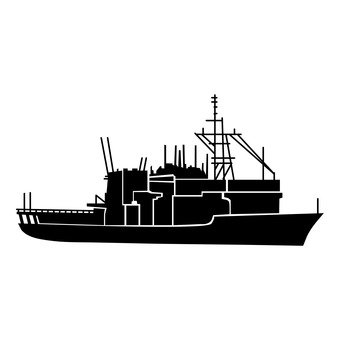 Maritime self-defense ship