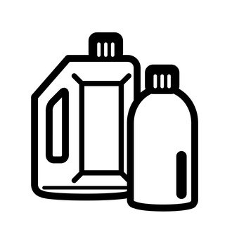 Detergent container