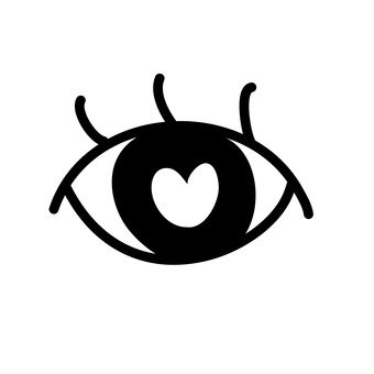Eye in love