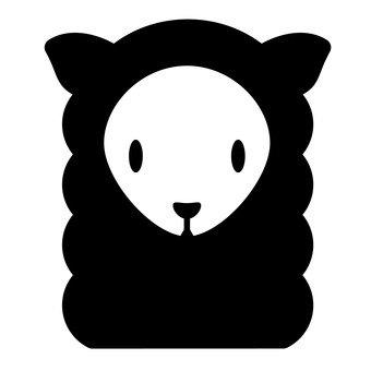 羊駝(黑色)