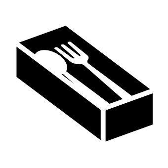 叉子和匙子