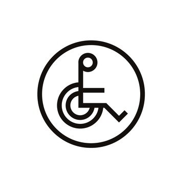 Wheelchair mark