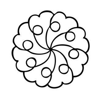 꽃 모티브