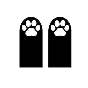 고양이의 발자국