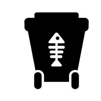 휴지통 (음식물 쓰레기)