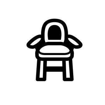 嬰兒椅和桌子