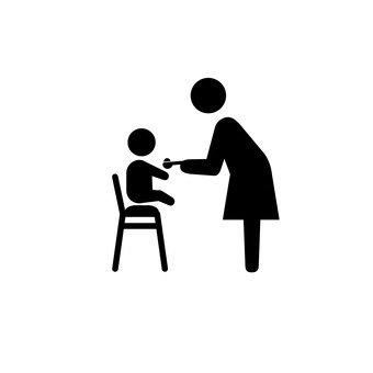 식사를하는 어린이