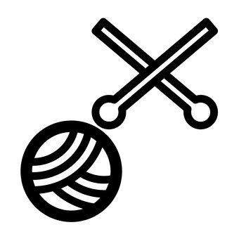 털실과 編み棒