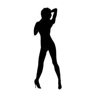 춤추는 여성 2