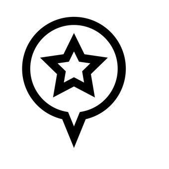 Speech balloon (star)
