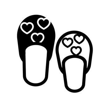 Pair slippers