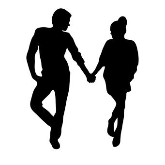 手牽手的情侶10