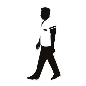 걷는 남자