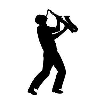 색소폰 연주자