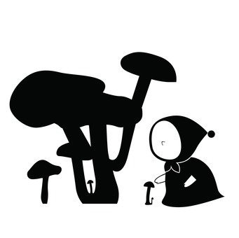 Mushrooms and dwarfs