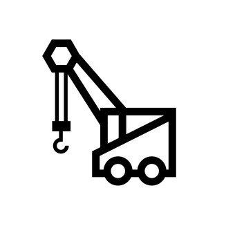 Crane car