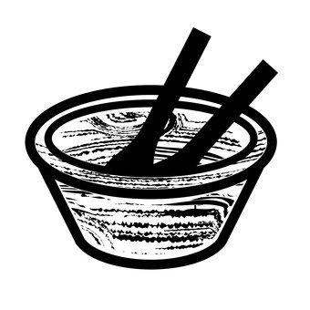 샐러드 그릇