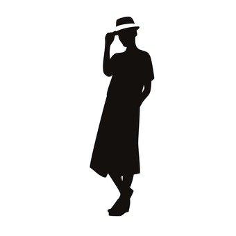 하복의 여성