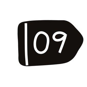 Number 09