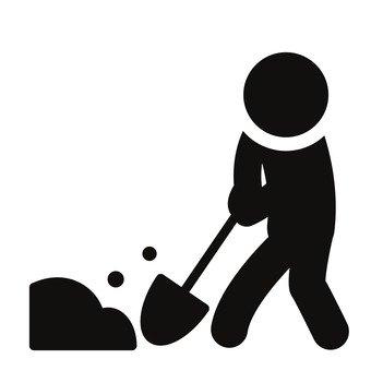 흙을 파는 사람