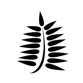 야자수 잎