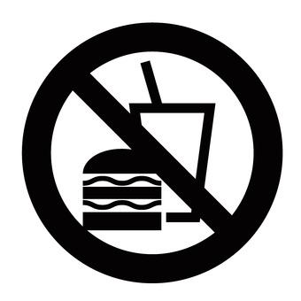 Eating prohibited