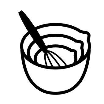 碗和打蛋器