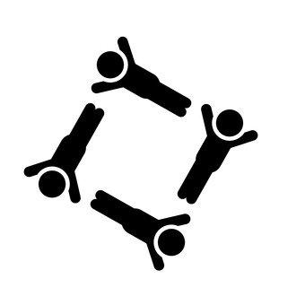 Groupe de gymnastique