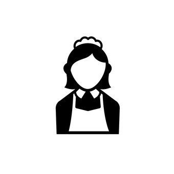 Ein Dienstmädchen